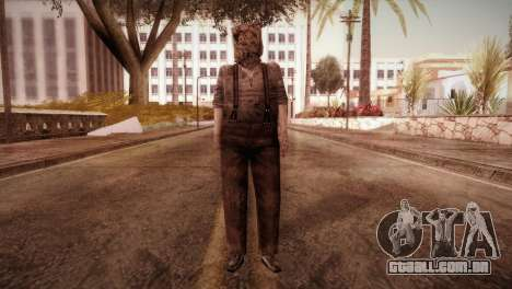 RE4 Dr. Salvador from Mercenaries para GTA San Andreas segunda tela
