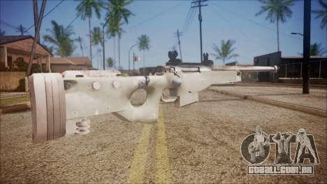 L96 from Battlefield Hardline para GTA San Andreas segunda tela