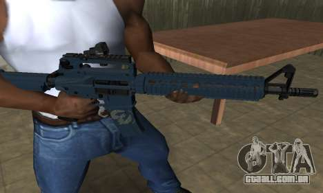 Counter Strike M4 para GTA San Andreas