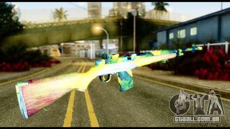 Brasileiro Rifle para GTA San Andreas segunda tela