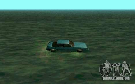 Cars Water para GTA San Andreas segunda tela