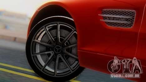 Mercedes-Benz SLS AMG GT para GTA San Andreas traseira esquerda vista