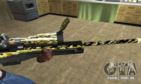 Cub Sniper Rifle para GTA San Andreas segunda tela