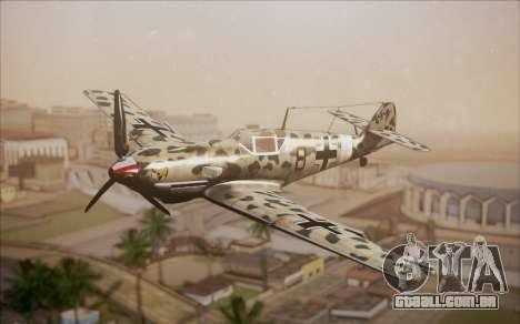 Messerschmitt BF-109 E3 para GTA San Andreas
