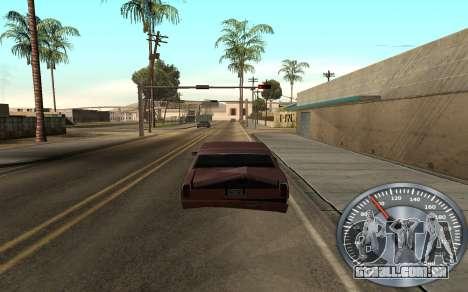 Ferro velocímetro para GTA San Andreas