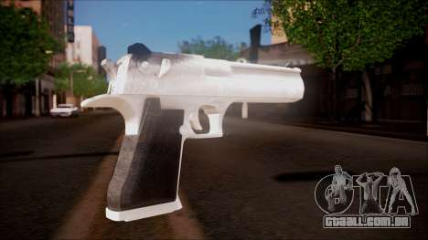 Desert Eagle from Battlefield Hardline para GTA San Andreas segunda tela