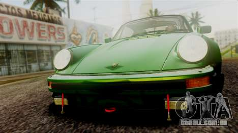 Porsche 911 Turbo (930) 1985 Kit A PJ para GTA San Andreas vista superior