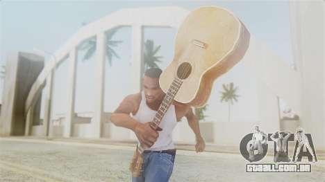 Red Dead Redemption Guitar para GTA San Andreas terceira tela