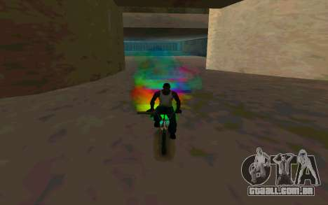 Bike Smoke para GTA San Andreas por diante tela