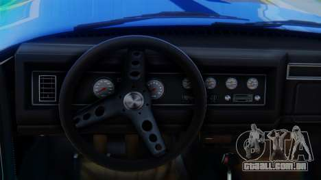 Invetero Coquette BlackFin v2 SA Plate para GTA San Andreas vista direita