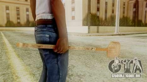 Red Dead Redemption Shovel para GTA San Andreas segunda tela