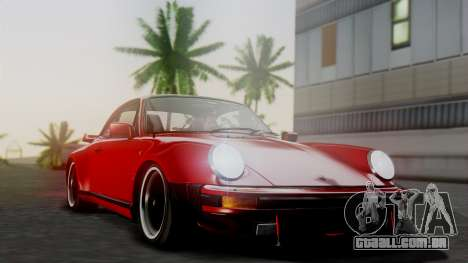 Porsche 911 Turbo (930) 1985 Kit A para GTA San Andreas vista superior