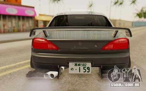 Nissan Silvia S15 Stance para GTA San Andreas vista traseira