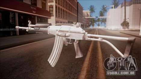 Galil AR v1 from Battlefield Hardline para GTA San Andreas segunda tela