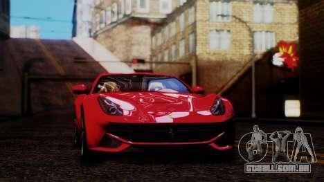 Sonic Unbelievable Shader v8 para GTA San Andreas segunda tela