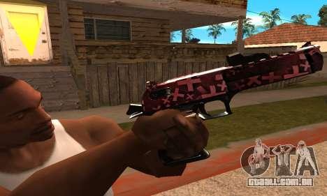 Lamen Deagle para GTA San Andreas terceira tela