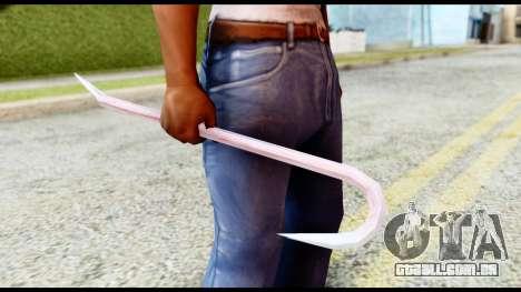 Manhunt Crowbar para GTA San Andreas segunda tela