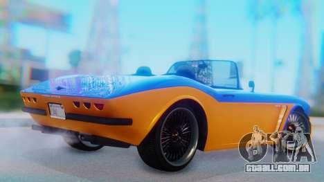 Invetero Coquette BlackFin v2 SA Plate para GTA San Andreas esquerda vista