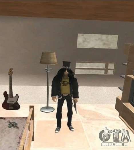 Slash para GTA San Andreas segunda tela