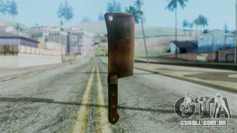 Cleaver from Silent Hill Downpour para GTA San Andreas segunda tela