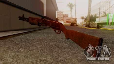 BlueSteel Shotgun para GTA San Andreas segunda tela