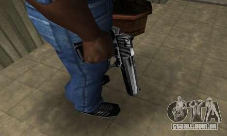 Full Silver Deagle para GTA San Andreas segunda tela