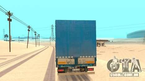 Tilt trailer para GTA San Andreas traseira esquerda vista