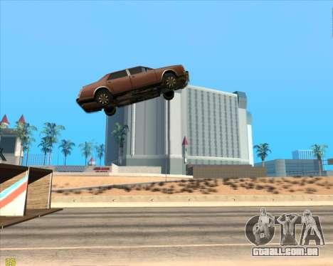 Trampolim para GTA San Andreas segunda tela