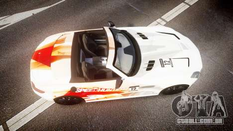 Mercedes-Benz SLS AMG para GTA 4 vista direita