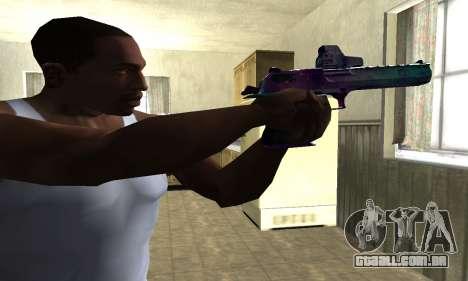 Space Deagle para GTA San Andreas segunda tela