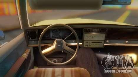 Chevrolet Caprice para GTA San Andreas vista direita