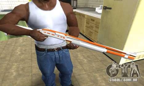 Asiimov Shotgun para GTA San Andreas