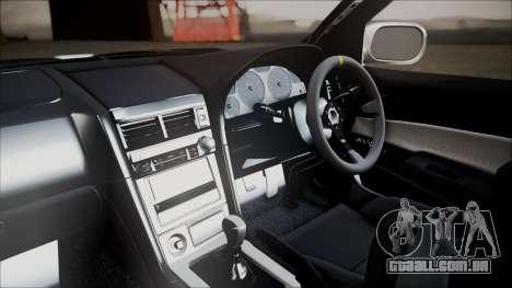 Nissan Skyline ER34 GT-Shop para GTA San Andreas vista direita