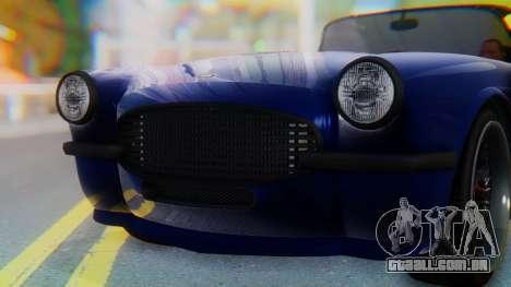 Invetero Coquette BlackFin v2 SA Plate para GTA San Andreas interior
