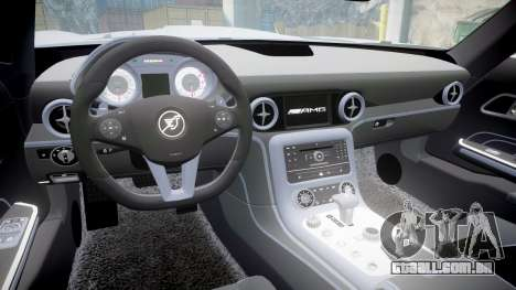 Mercedes-Benz SLS AMG para GTA 4 vista de volta