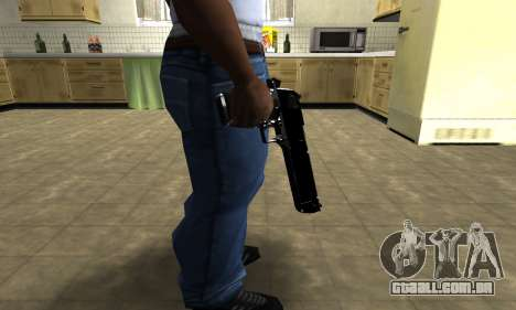 Black Cool Deagle para GTA San Andreas terceira tela