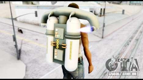 New SA Jetpack para GTA San Andreas terceira tela