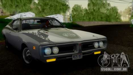 Dodge Charger Super Bee 426 Hemi (WS23) 1971 IVF para GTA San Andreas vista direita