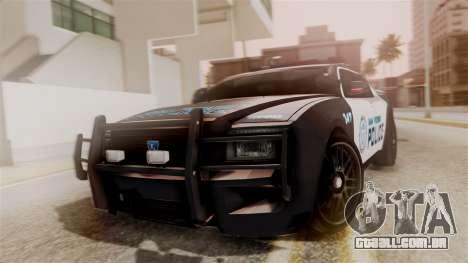 Hunter Citizen from Burnout Paradise Police SF para GTA San Andreas
