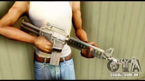 M4 Fixed para GTA San Andreas terceira tela