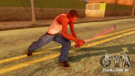 Atmosphere Baseball Bat para GTA San Andreas terceira tela
