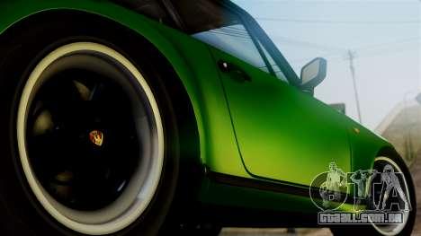 Porsche 911 Turbo (930) 1985 Kit A PJ para GTA San Andreas traseira esquerda vista