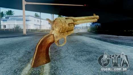 Red Dead Redemption Revolver Cattleman Sergio para GTA San Andreas segunda tela