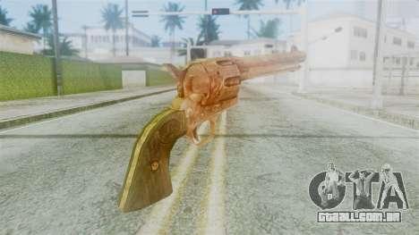 Red Dead Redemption Revolver Diego Nueva para GTA San Andreas segunda tela