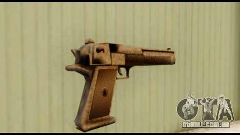 Desert Eagle v0.8 para GTA San Andreas segunda tela