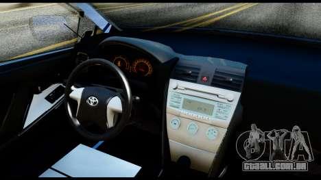 Toyota Corolla 2012 para GTA San Andreas vista direita