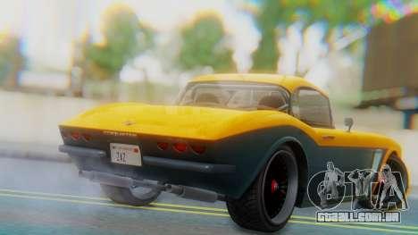 Invetero Coquette BlackFin Not Convertible para GTA San Andreas esquerda vista