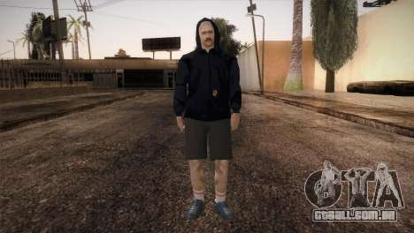 Mercenário máfia na capa para GTA San Andreas segunda tela