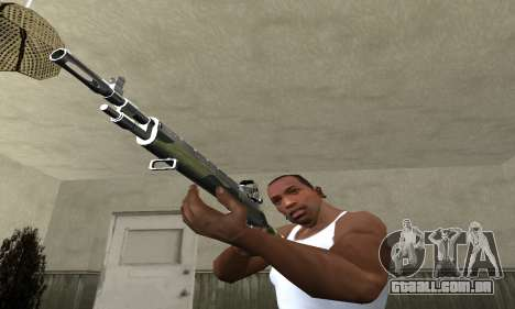 Military Rifle para GTA San Andreas segunda tela