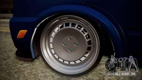 B. O. Ford Transit Construção para GTA San Andreas traseira esquerda vista
